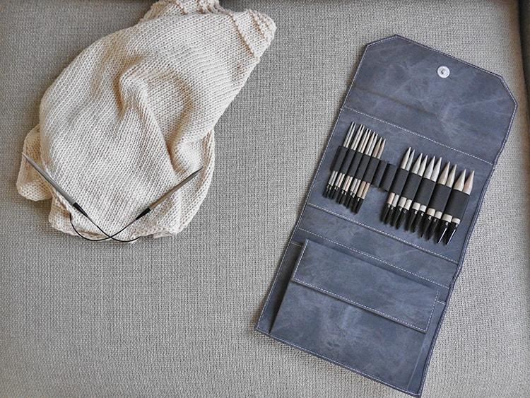Lykke needles set | simple knit top | knitting pattern