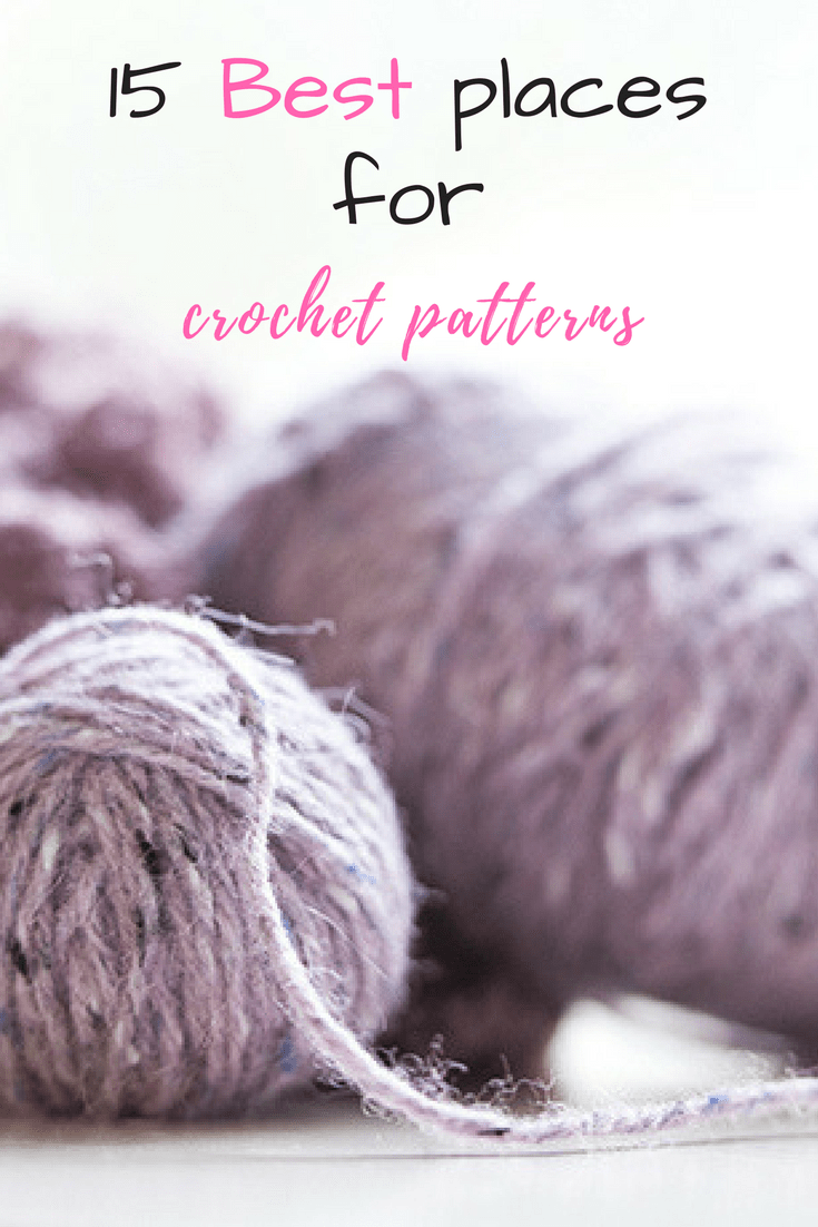 These are some of the best sites online to find crochet patterns free or paid