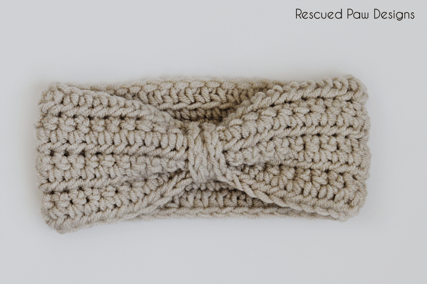 Easy crochet headband free pattern