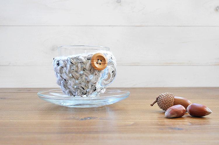 Espresso cup cozy free pattern