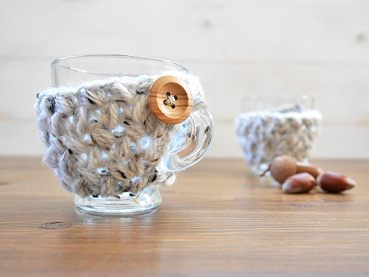 Cup cozy free pattern
