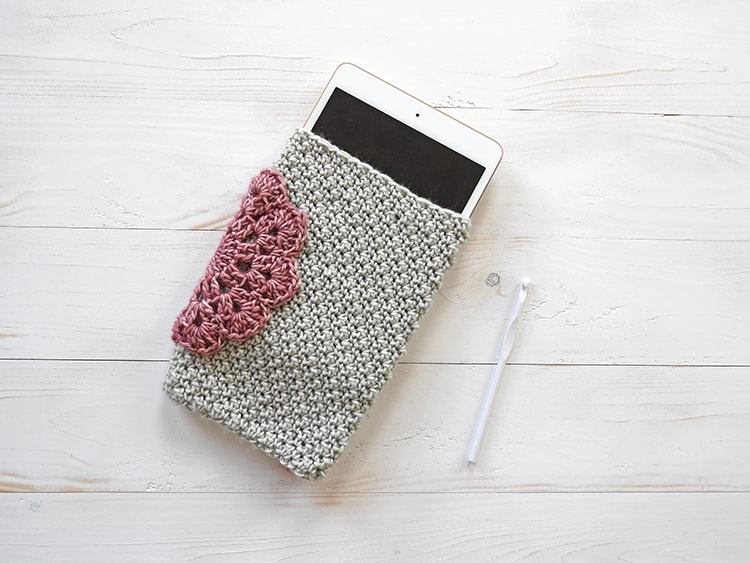 Free crochet pattern tablet case