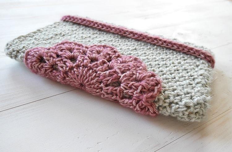 Free crochet pattern tablet case