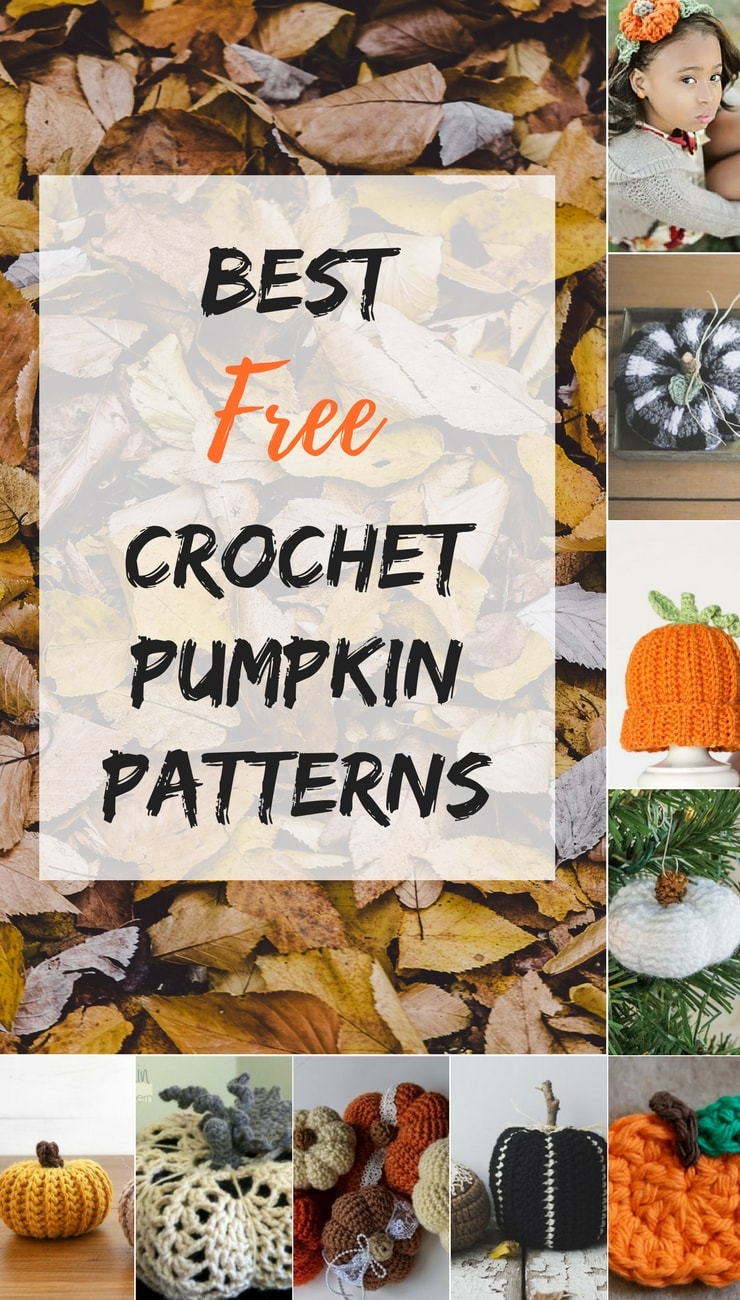 Only the best free crochet pumpkin patterns that are out there!