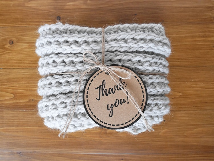 Free printable tags | crochet gift tags