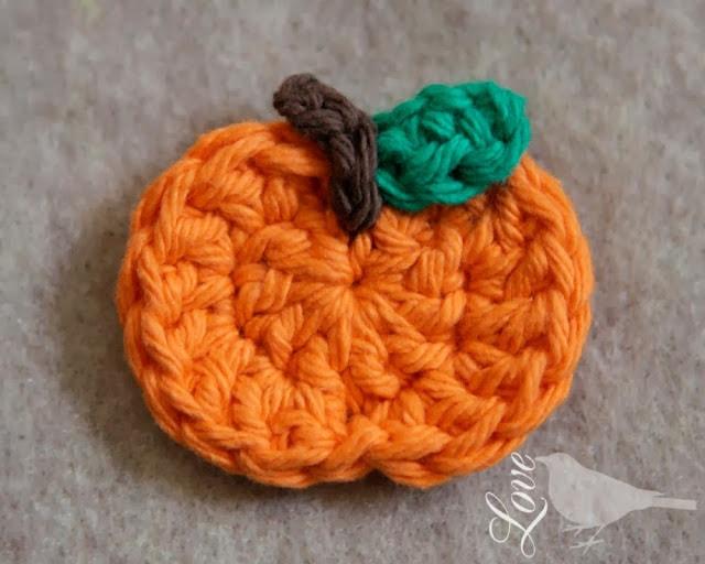 Pumpkin applique photo tutorial