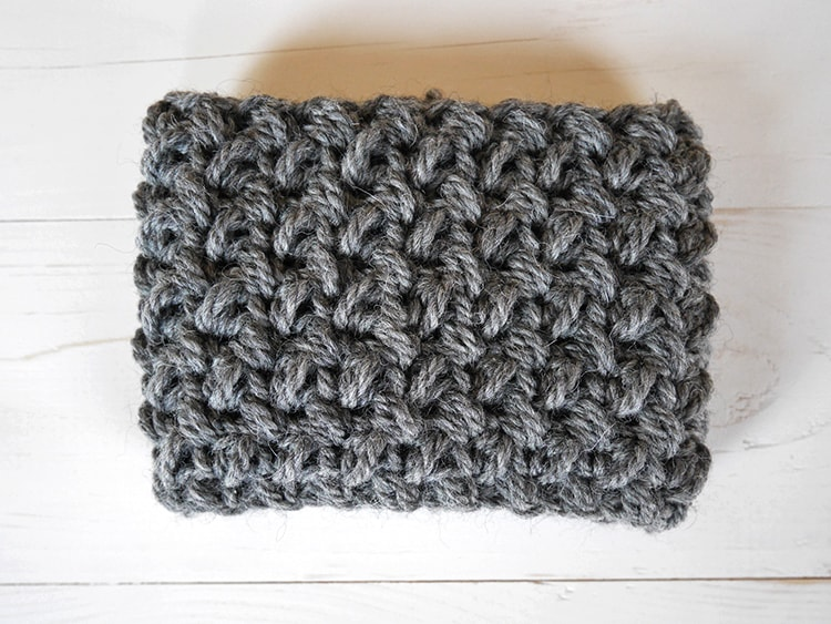 Crochet tutorial | how to make the mini bean stitch in the round