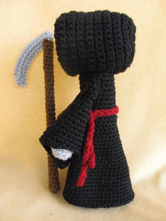 Grim reaper crochet pattern amigurumi