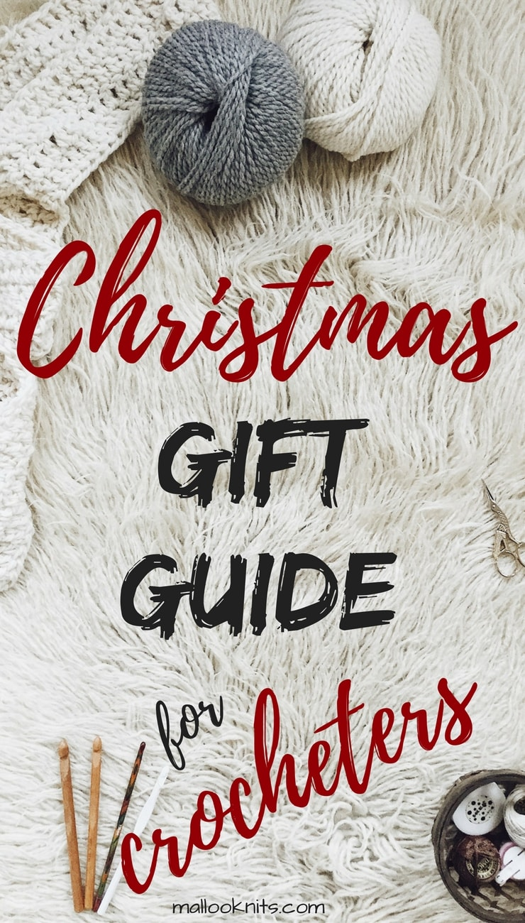 The ultimate christmas gift guide for crocheters. You can find inside everything a crocheters heart will ever need. From crochet hooks yarn and kits to jewelry and stocking stuffers!