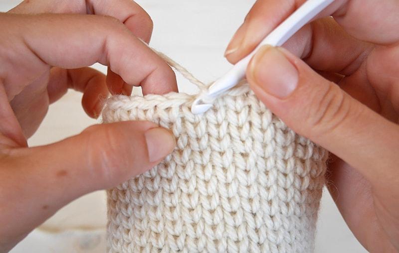 Crochet snow owl amigurumi | waistcoat stitch crochet tutorial, knit stitch
