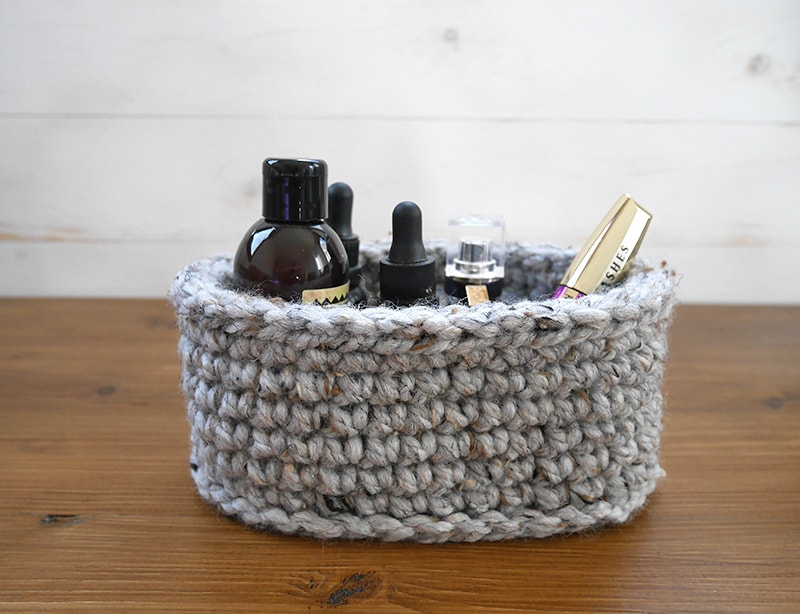 How To Make Your Own Oval Baskets Free Pattern Mallooknits
