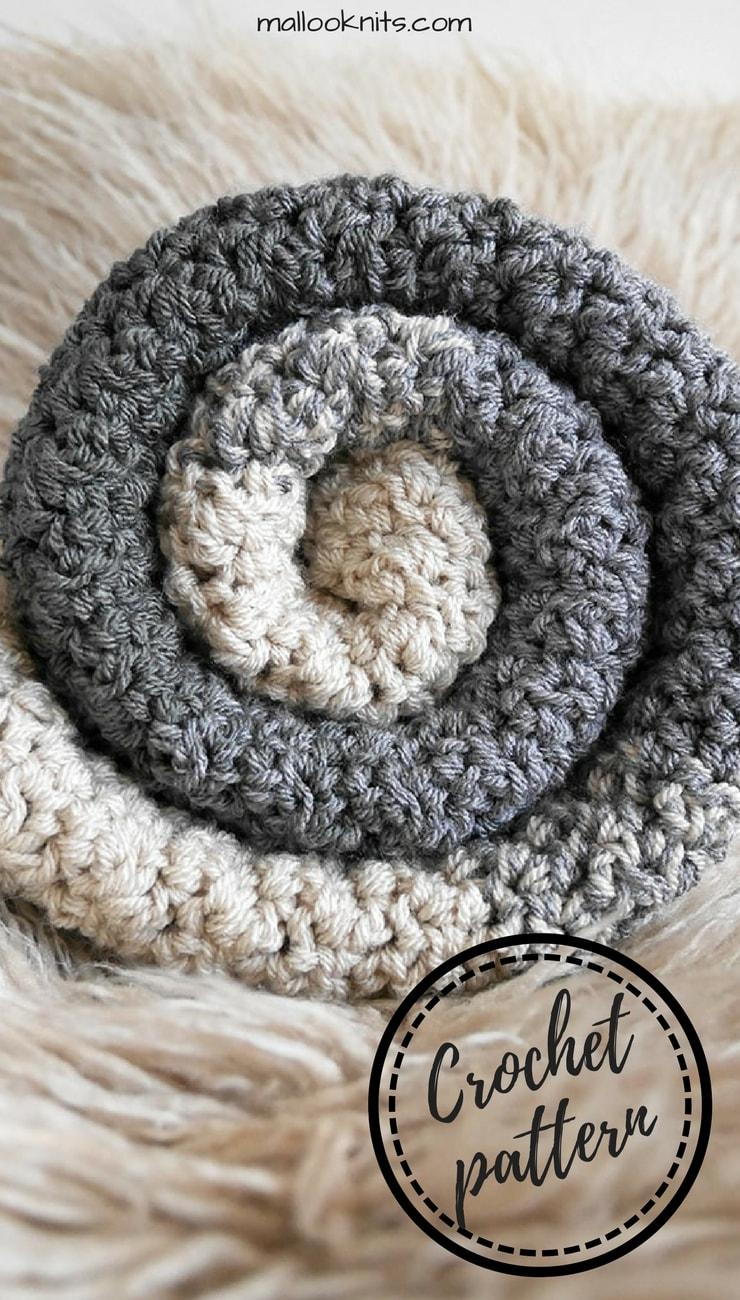 The Benson crochet baby blanket pattern - mallooknits.com