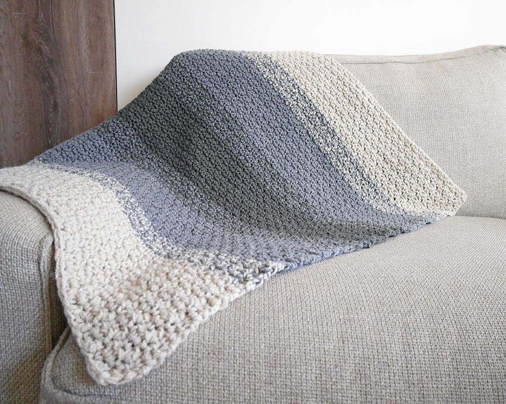 Baby blanket crochet pattern.