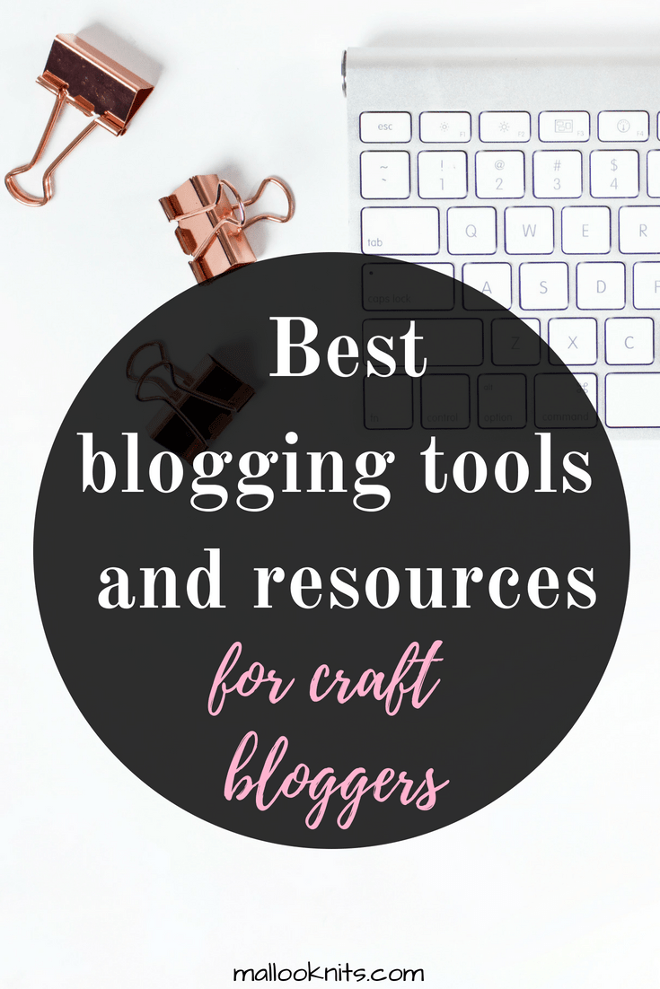 In this mini guide you will find only the best blogging tools and resources for craft bloggers. Learn how to grow your blog using only the best tools and courses. #growmyblog #bestbloggingtools