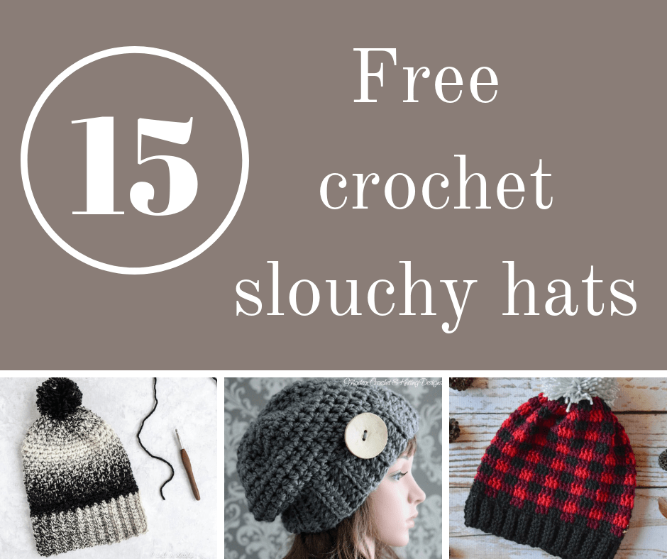 33d87f2db0f 15 awesome crochet slouchy hat patterns - mallooknits.com