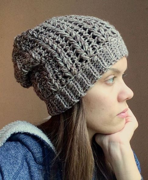 cfda099e7d3d2 15 awesome crochet slouchy hat patterns - mallooknits.com