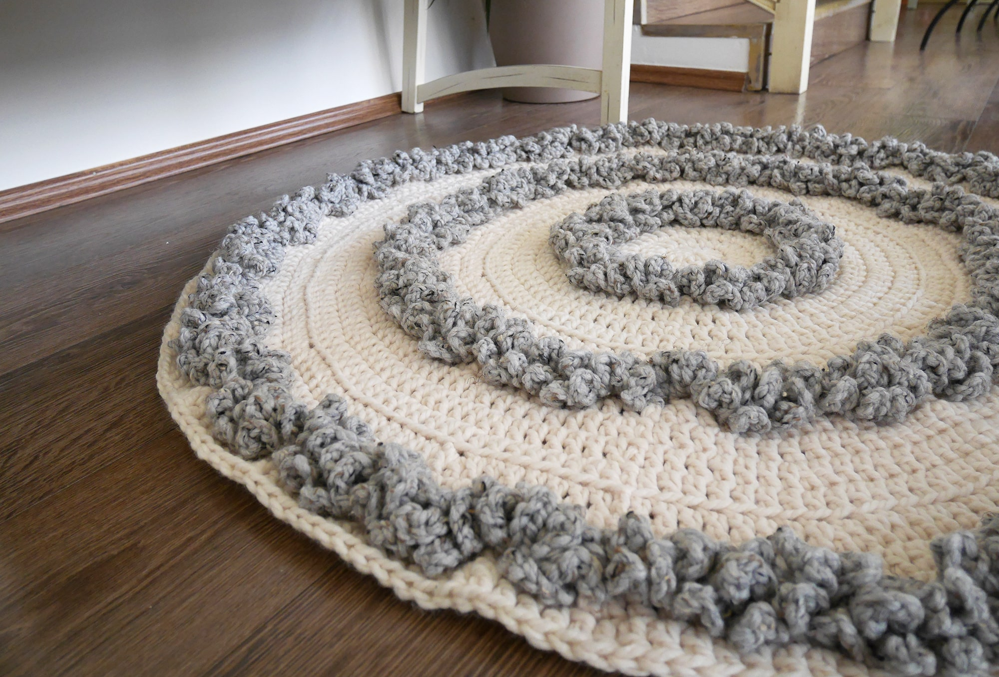 The Aspen rug crochet pattern