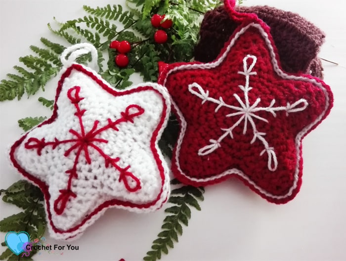 Crochet Christmas Ornaments Free Pattern Roundup Mallooknitscom