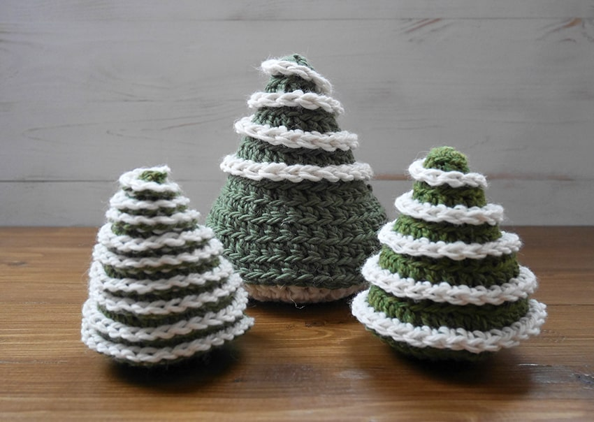 Crochet chrismas tree pattern free