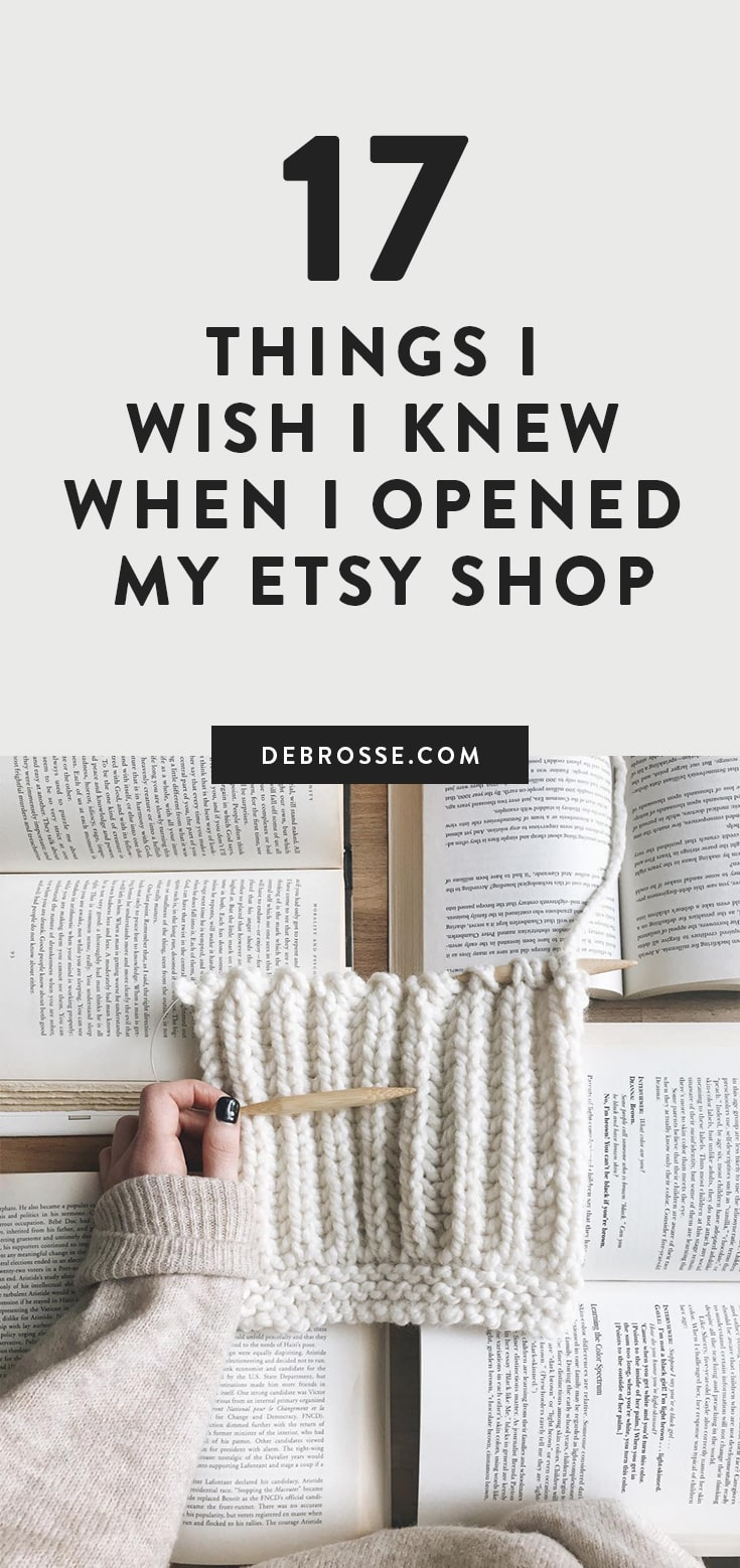 Learn all Etsy hacks I wish I knew before I opened my etsy shop. Honest Debrosse Masterclass review about how to increase traffic and sales in your crochet or knit shop. #etsyhacks #etsytraffic #etsysales #affiliate