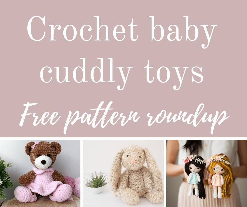 Crochet dolls free pattern roundup.