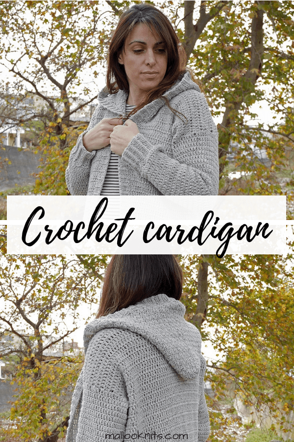 Cozy and casual this crochet cardigan will keep you company every day! Make yours with this free crochet pattern for the hooded cardi! #crochetcardi #freepattern #freecrochetcardiganpattern