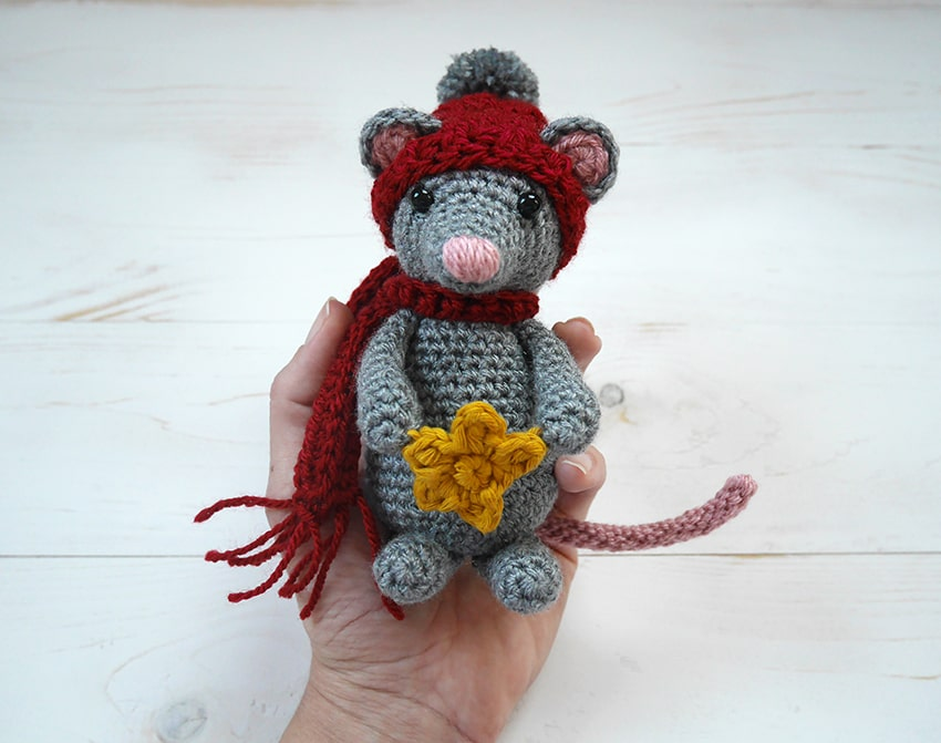 Free crochet mouse pattern