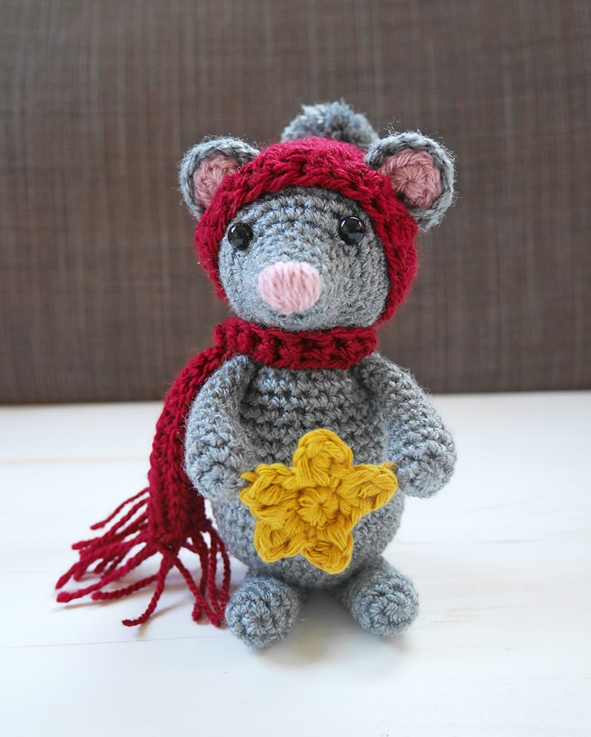 Tiny Mouse amigurumi pattern | Crochet mouse, Crochet patterns ... | 1060x850