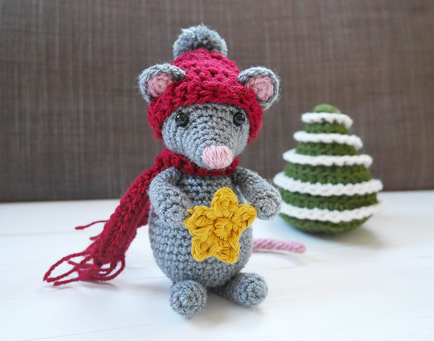 Crochet mouse free pattern