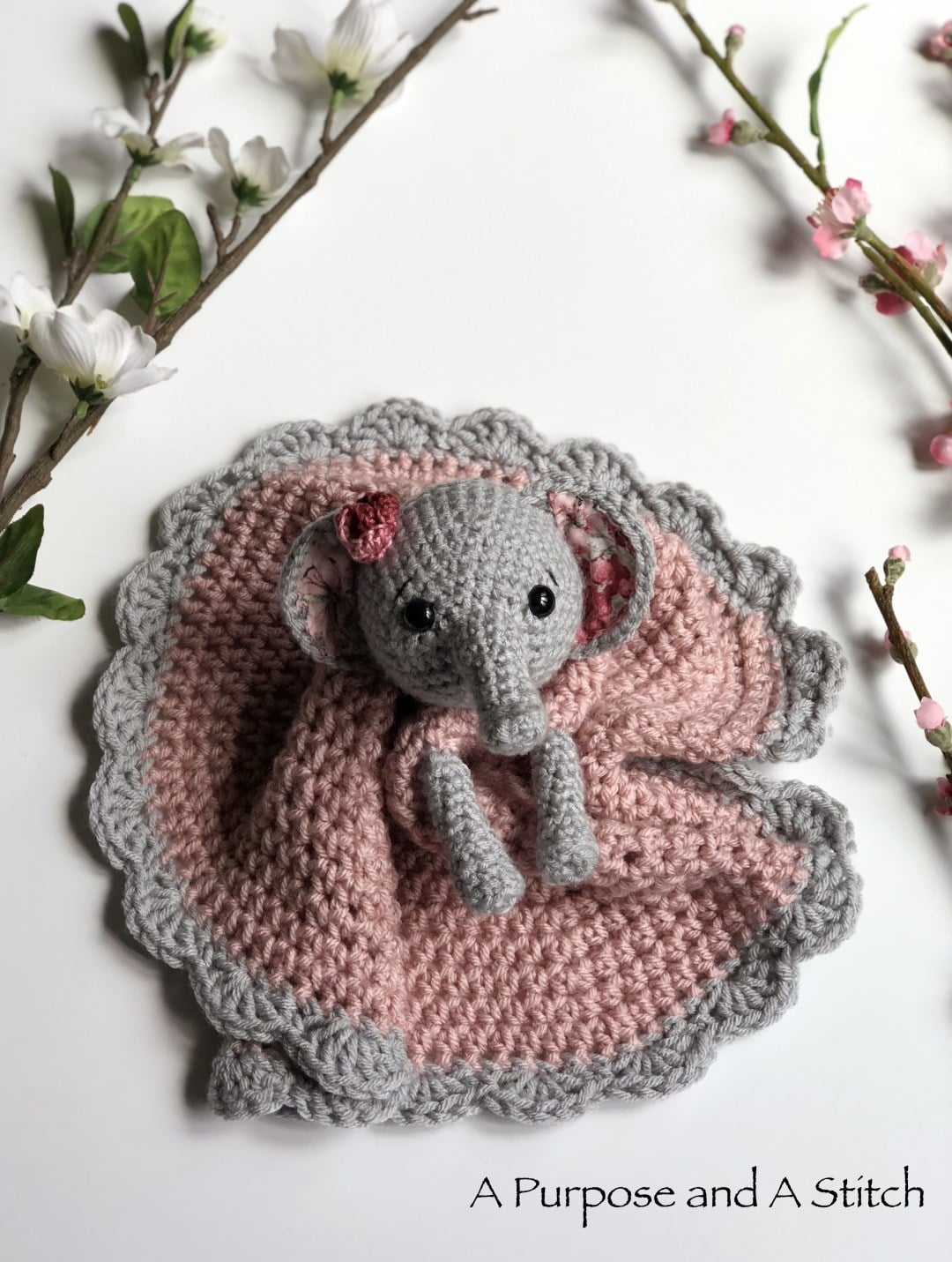 Crochet Elephant Comforter Amigurumi Project: British Wool | TOFT | 1431x1080