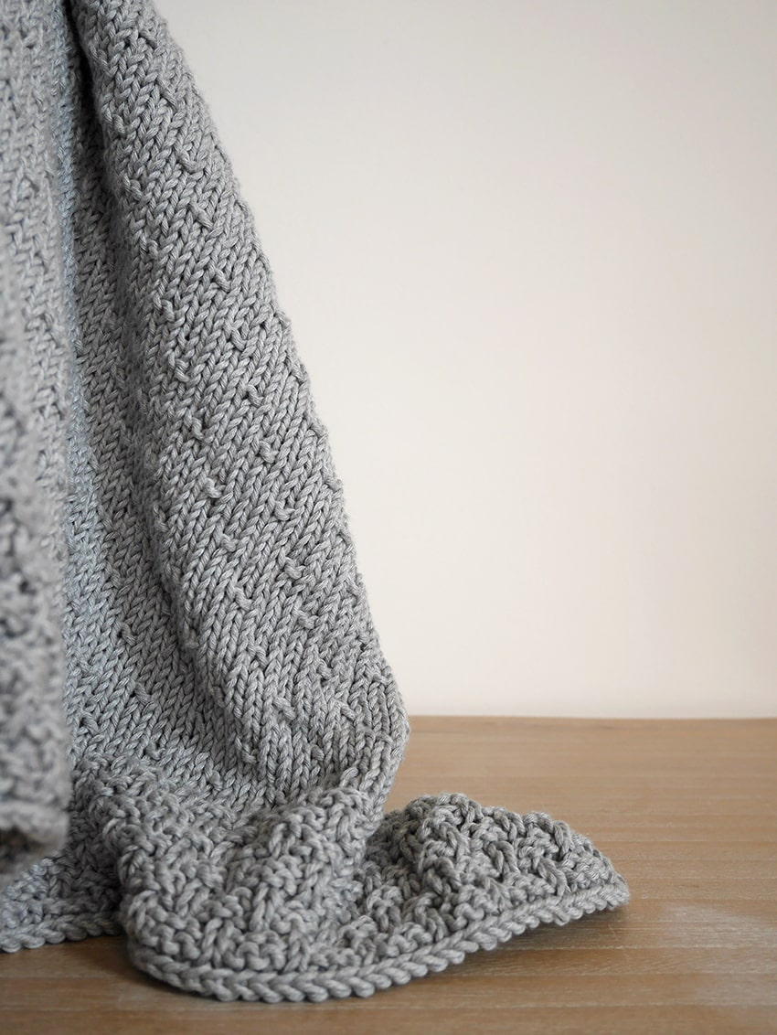 Easy Knit Baby Blanket Pattern The Celia Baby Blanket Mallooknits Com