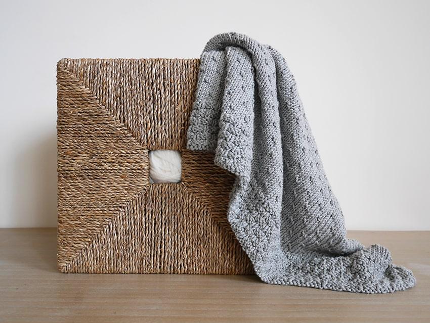 Toddler knit blanket pattern
