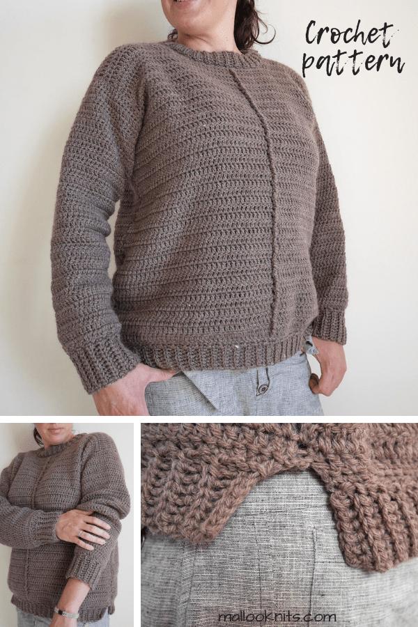 Crochet Sweater Pattern The York Mallooknits Com