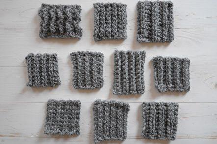 Crochet ribbing tutorial