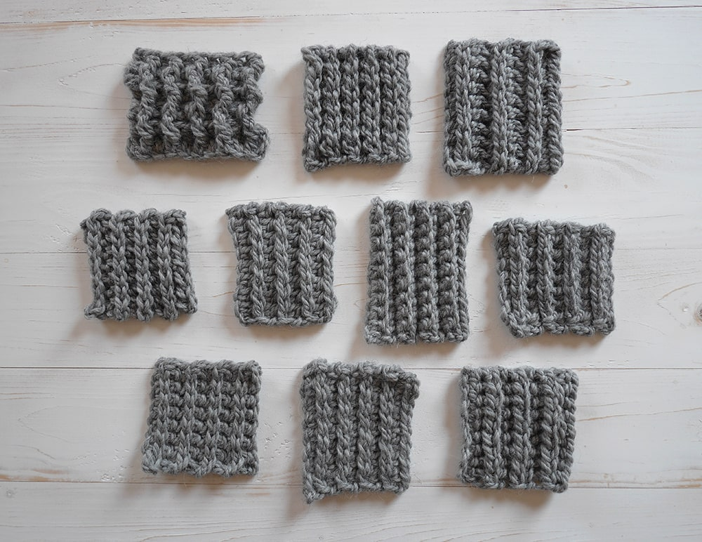 Crochet ribbing tutorial