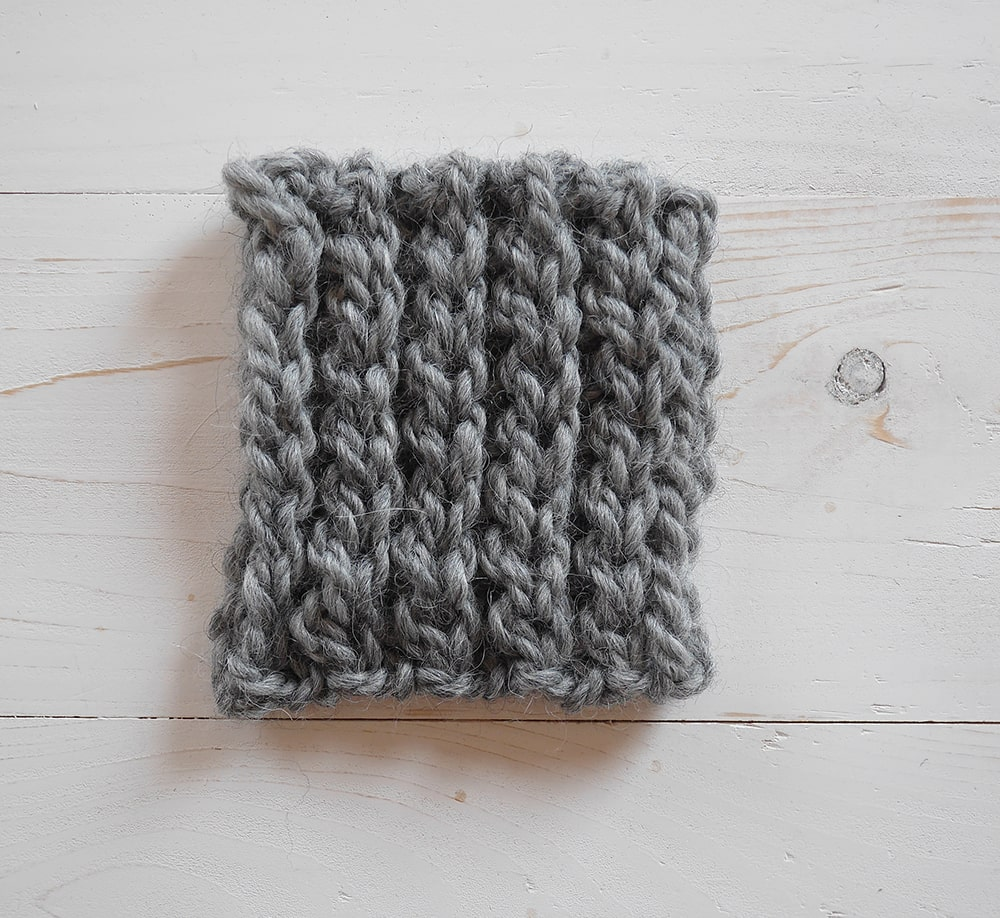 Crochet ribbing tutorial, slip stitch in the back loop only
