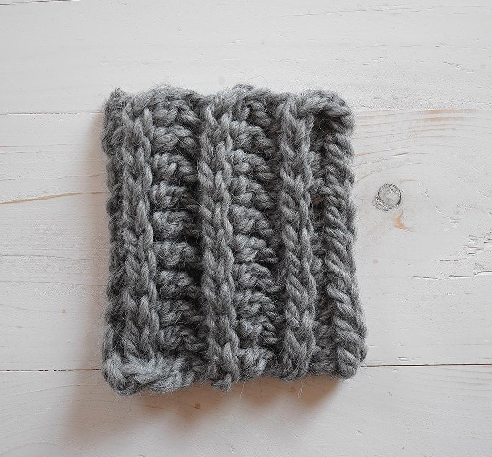 Half double crochet in the third loop, crochet ribbing tutorial