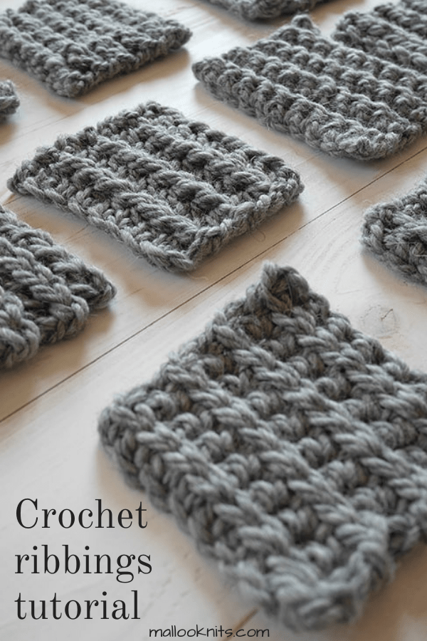 Wanna know how to crochet ribbing for your sweater, beanie, or just about anything? There are 10 different crochet ribbing stitches in this tutorial.