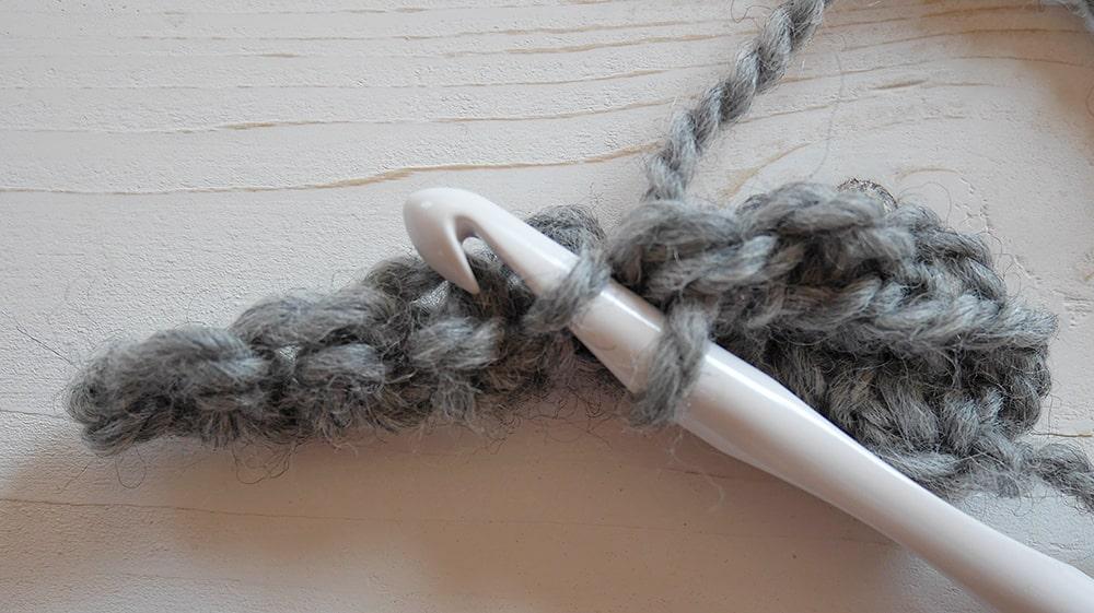 Crochet ribbing tutorial single crochet in the third loop only