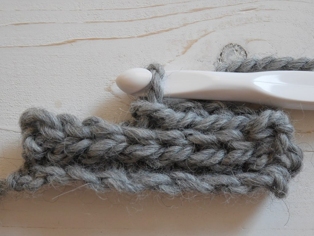 Slip stitch in back loop only crochet tutorial