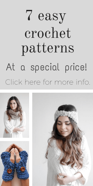 Easy crochet patterns ebook