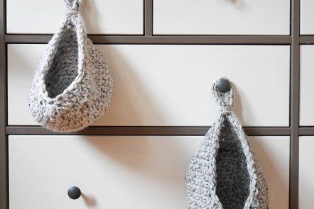 Free crochet hanging basket pattern