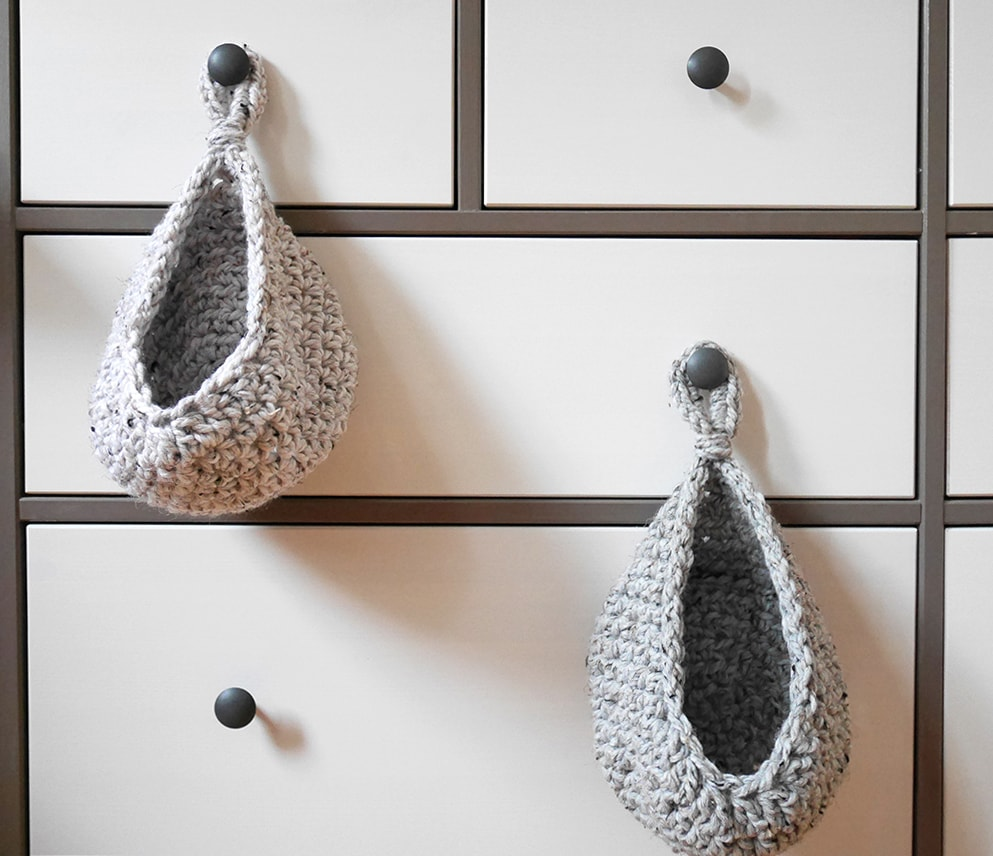 Free crochet hanging basket pattern