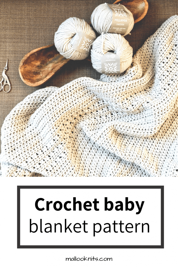 Crochet baby and toddler blanket pattern. One of the easiest crochet blankets you are going to make. Fun and full of texture, just watch your favorite show and crochet!