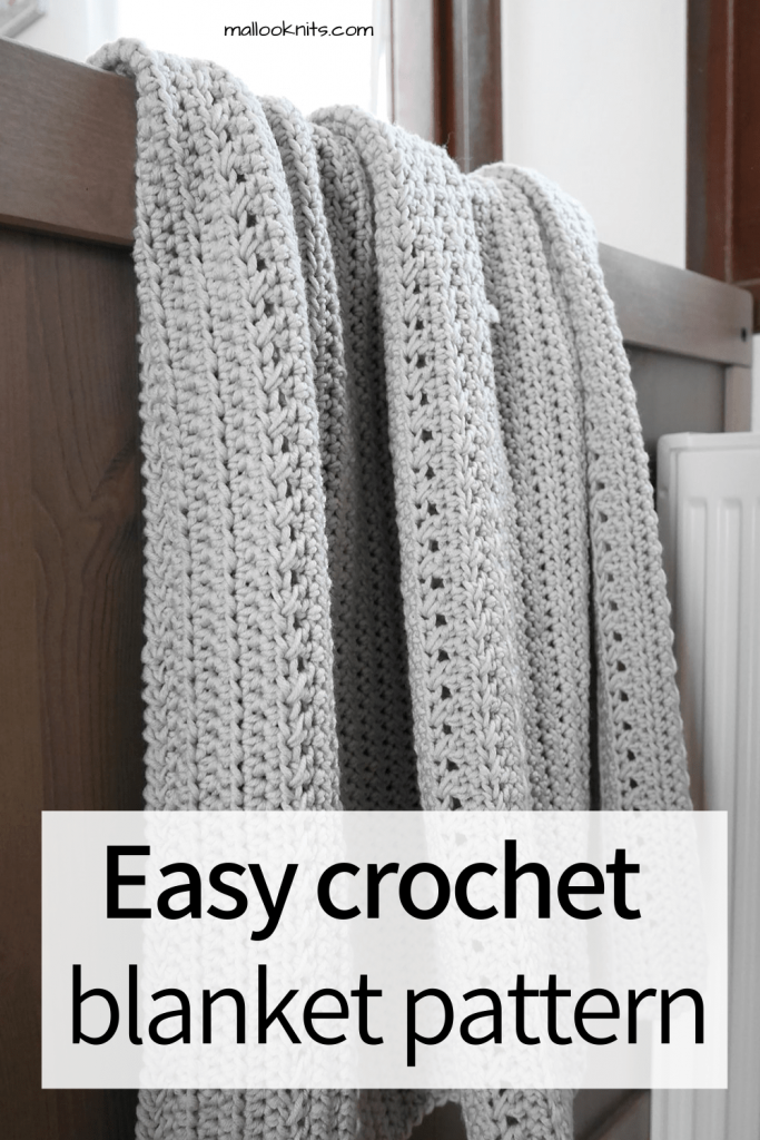 Easy and full of texture crochet baby blanket pattern. The Finnegan blanket pattern comes in two sizes, baby and toddler.