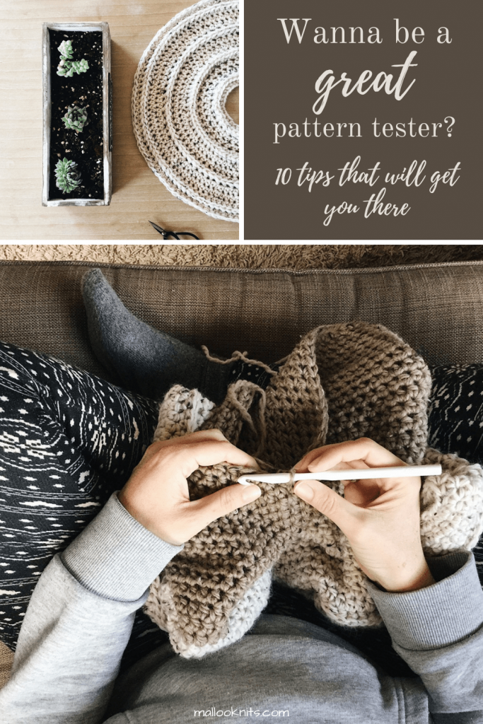 Have you ever wondered what a pattern tester does? If pattern testers are getting paid for their work. All your questions answered in this post. #crochetpatterntester #patterntesterswanted #patterntesting #patterntesters