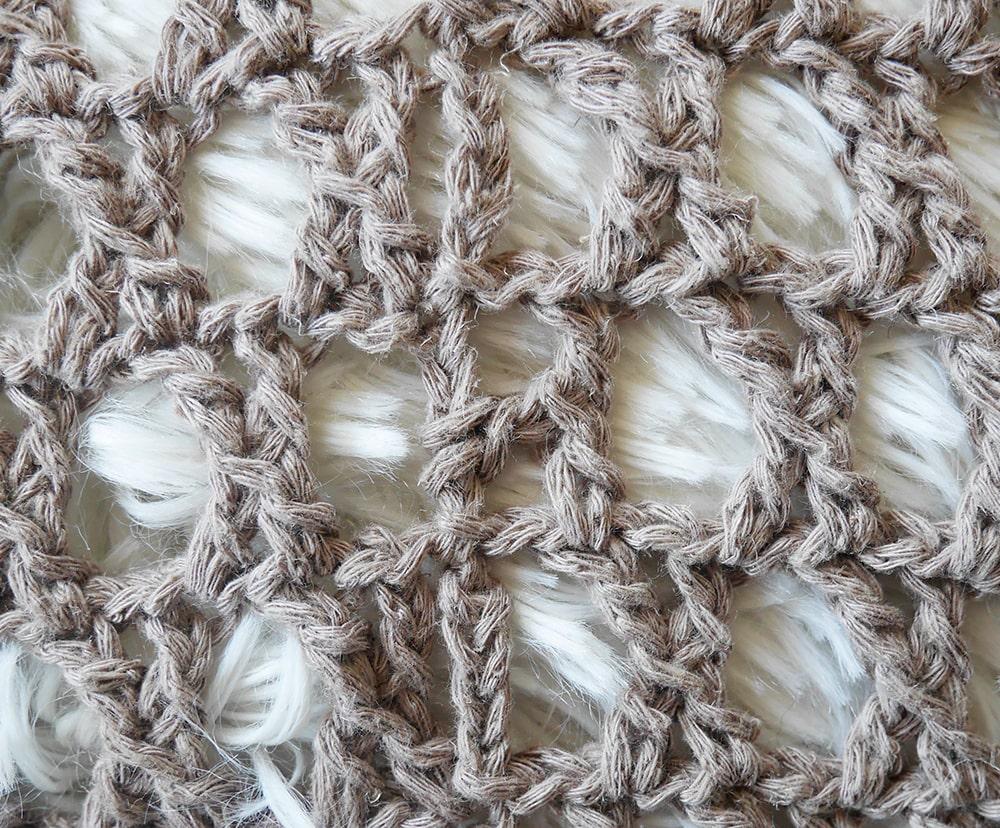 Half x stitch