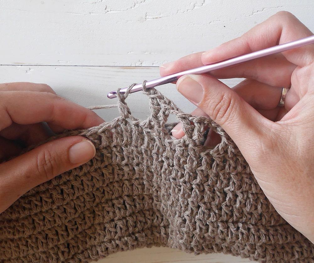 Crochet beach bag/market bag