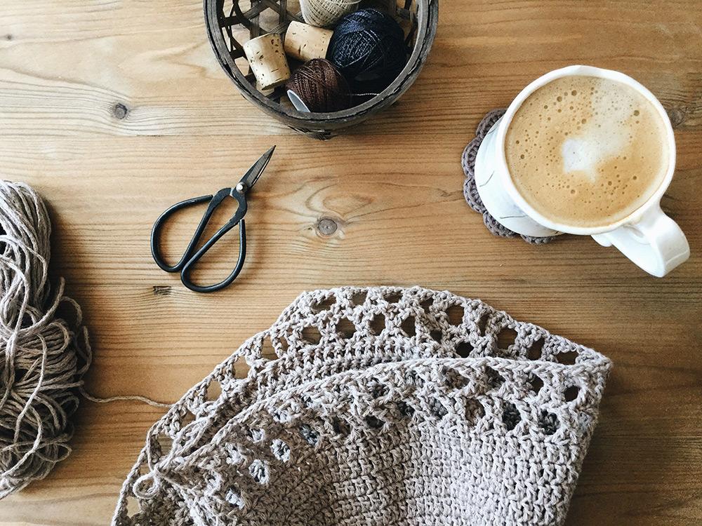 Padrão de bolsa de crochê livre